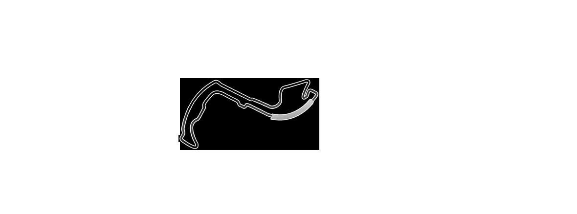 Plan du circuit du Grand Prix F1 de Monaco